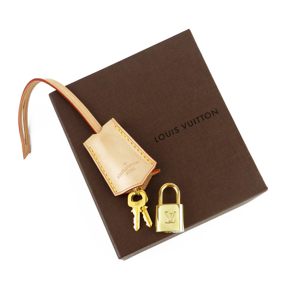Louis Vuitton Bell Tag, Lock & Keys Set #309