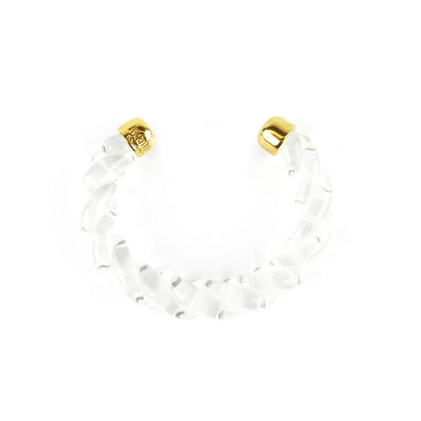 Kate Spade Clear Resin Rope Cuff
