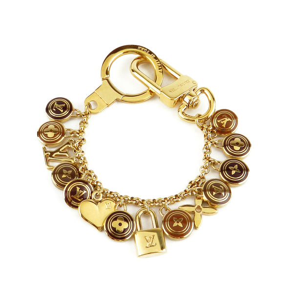 Louis Vuitton Cles Pastilles Bag & Key Charm Bracelet