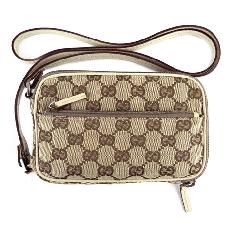 Gucci GG Monogram Cross-Body Pouch