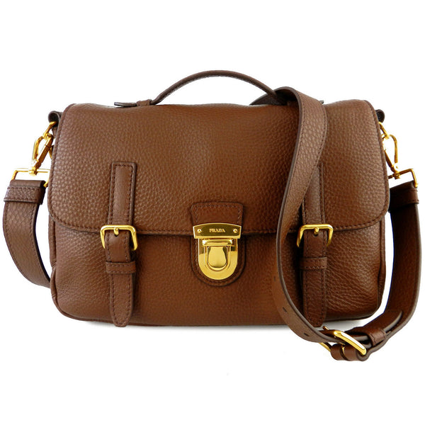Prada Vitello Daino Four-Way Buckle Bag