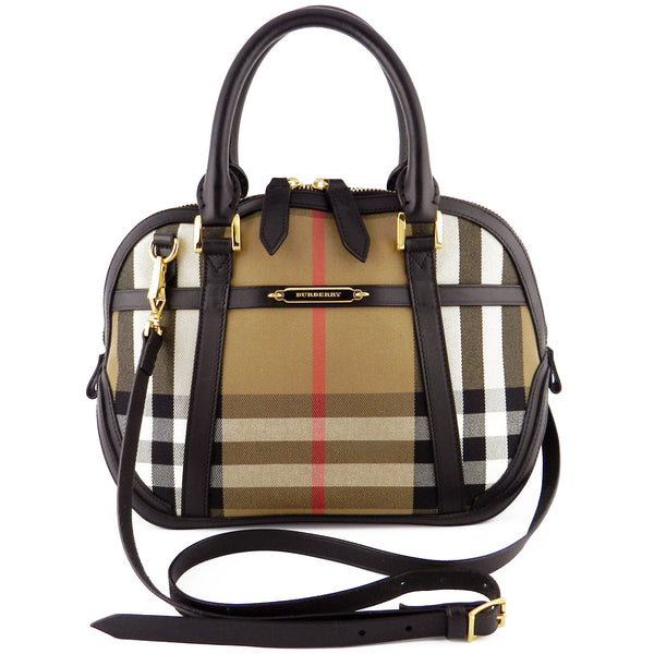 Burberry Prorsum Orchard House Check Convertible Bag