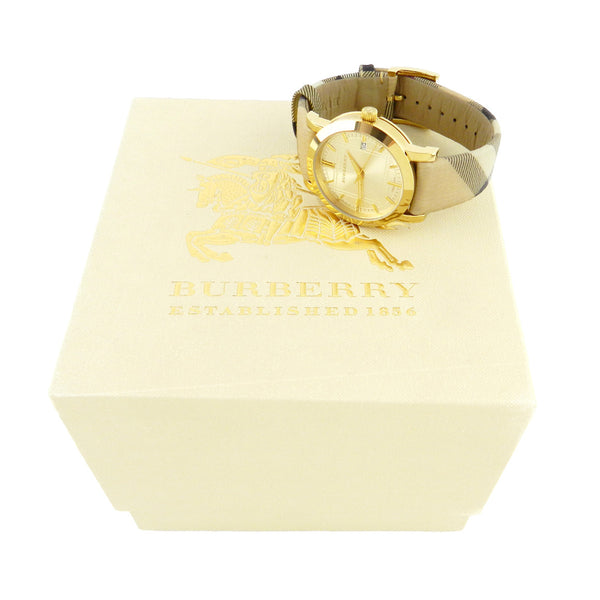 Burberry Classic Round House Check Watch