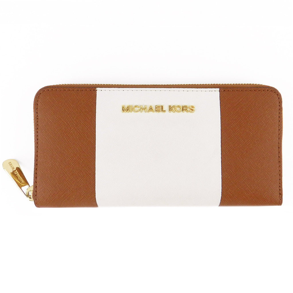 4fe0ba736d0e LUXUCA.COM - Michael Kors Saffiano Leather Continental Zip Wallet
