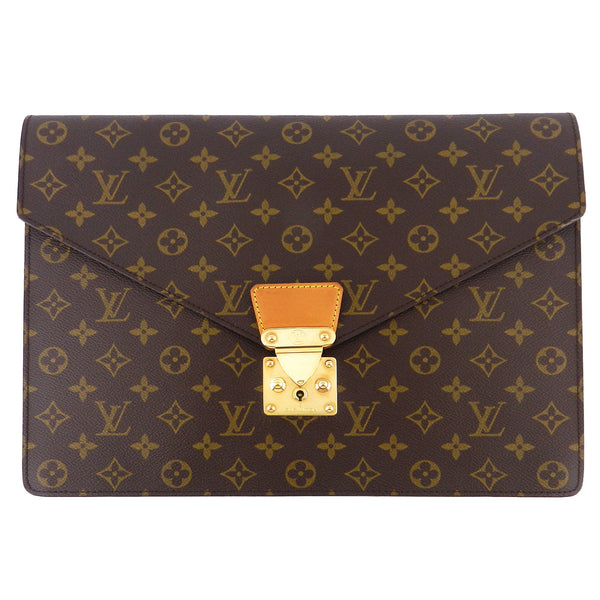 Louis Vuitton Monogram Senateur Porte Documents Case