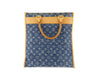 Louis Vuitton Monogram Denim Sac Plat - Limited Edition