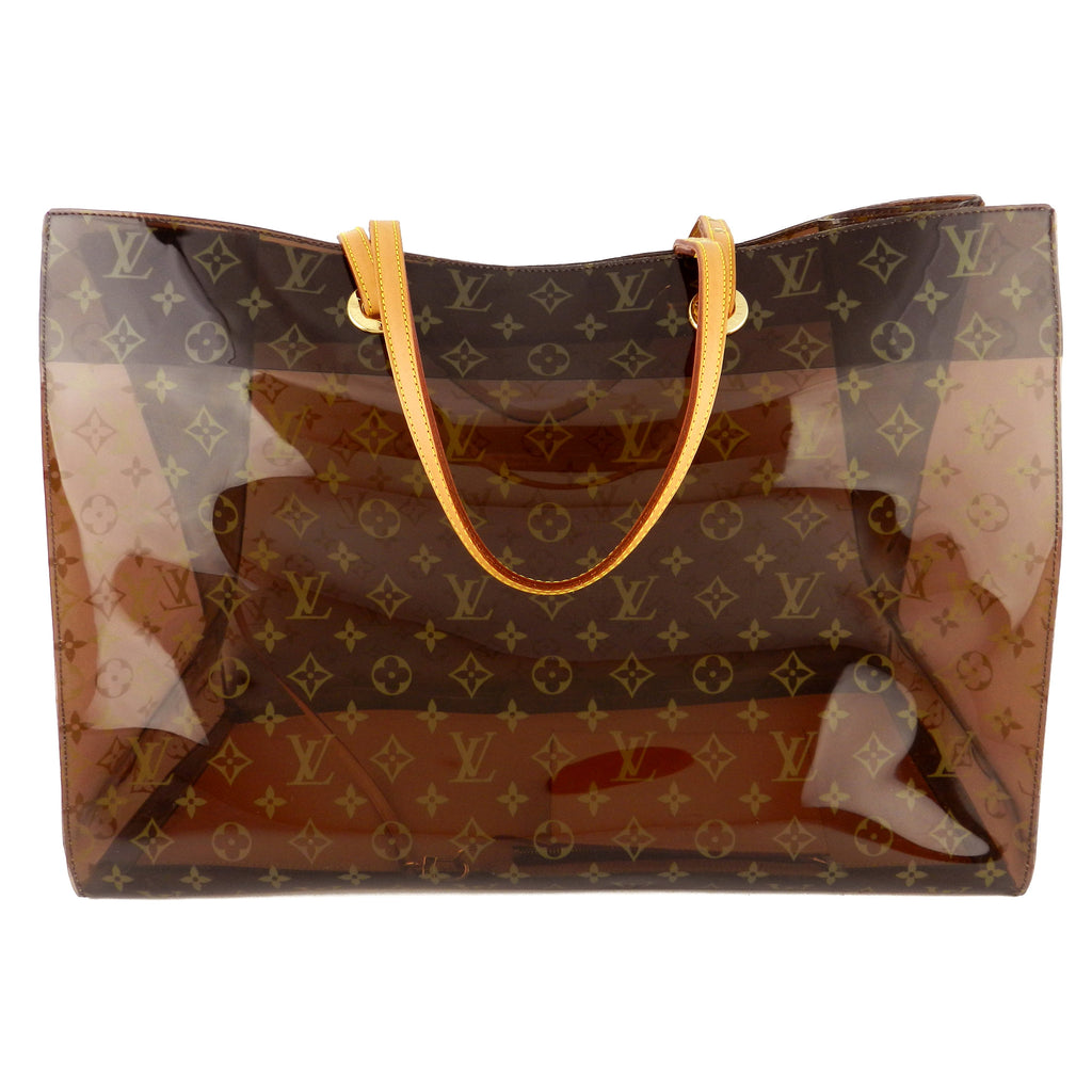 e1fc71d64d9c COM - Louis Vuitton Monogram Ambre Vinyl Cabas GM Cruise Tote - Limited Edit