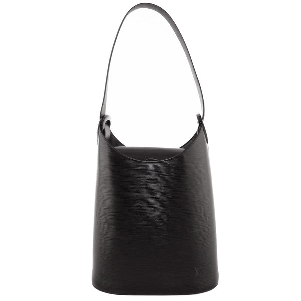Louis Vuitton Black Epi Verseau Shoulder Bag