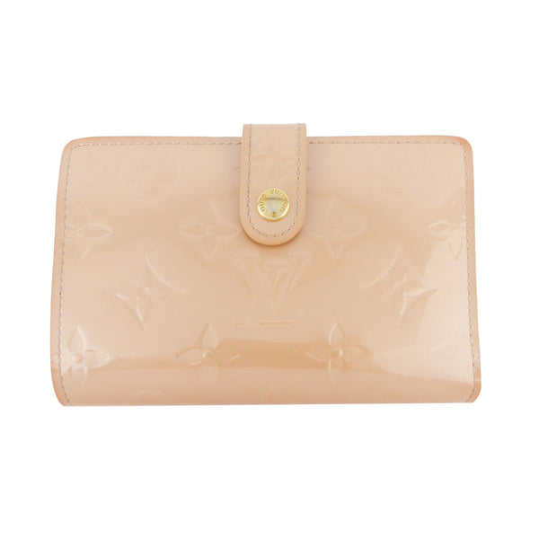 Louis Vuitton Monogram Vernis French Wallet - Ballerina Beige