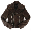 Balenciaga Moto Leather Biker Jacket 36 XXS / XS
