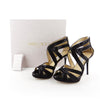 Jimmy Choo Sequin-Lace Evening Sandals sz 36 / 6