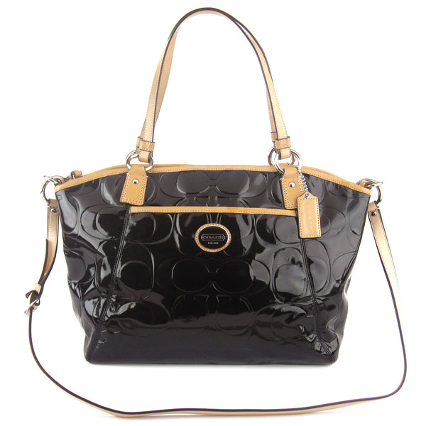Coach Patent Two-Way Tote