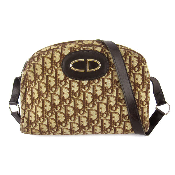 Dior Vintage Monogram Shoulder Bag