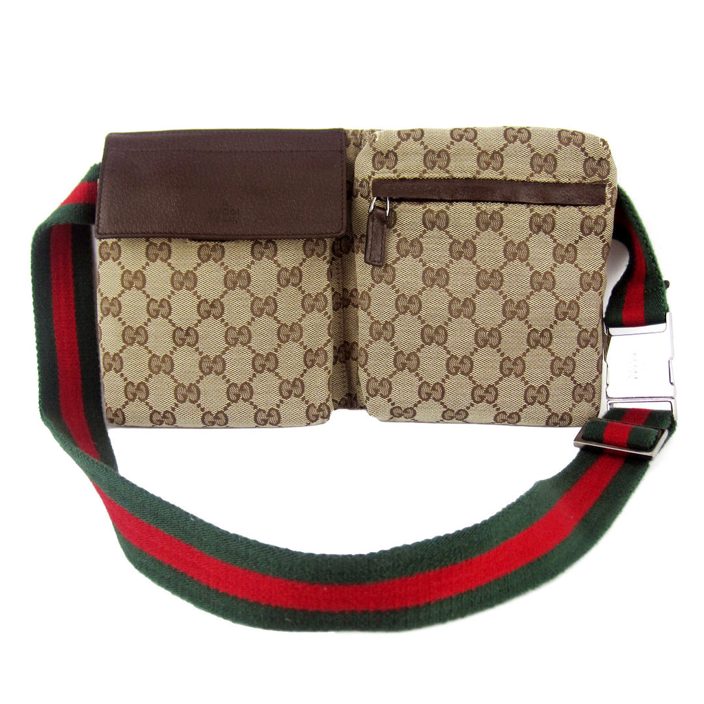 Luxuca Com Gucci Gg Canvas Waist Belt Bag