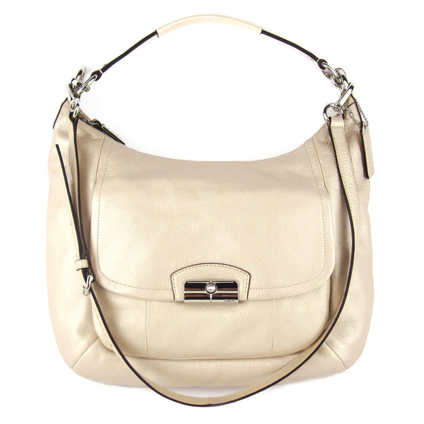 Coach Kristin Champagne Hobo & Crossbody - NEW