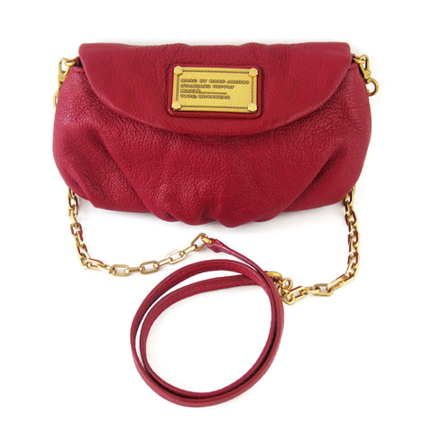 Marc by Marc Jacobs Classic Q Karlie Cross-Body Clutch - Red