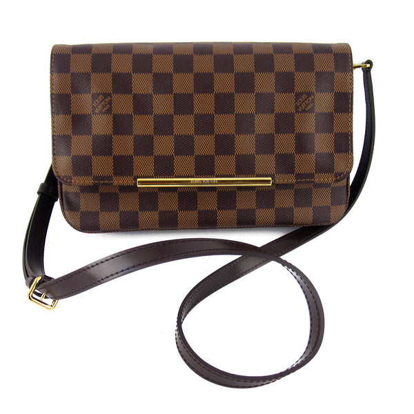 Louis Vuitton Damier Ebene Hoxton PM Shoulder Bag & Clutch