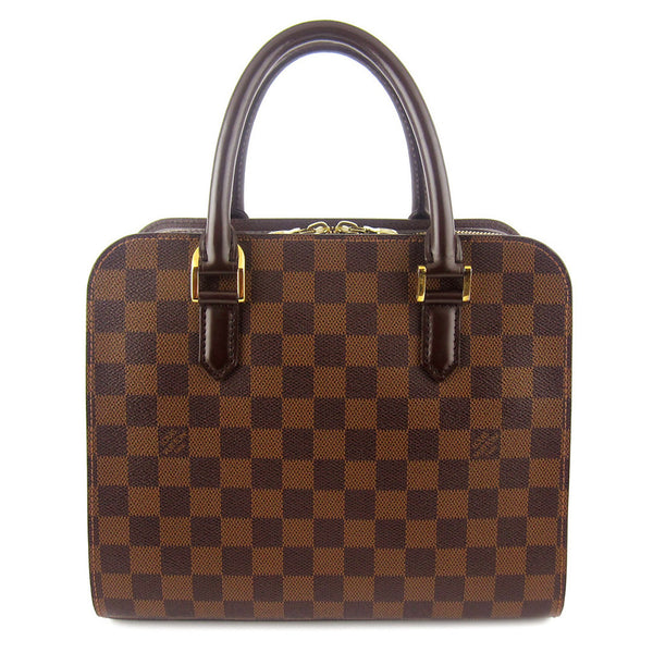 Louis Vuitton Damier Ebene Triana Satchel