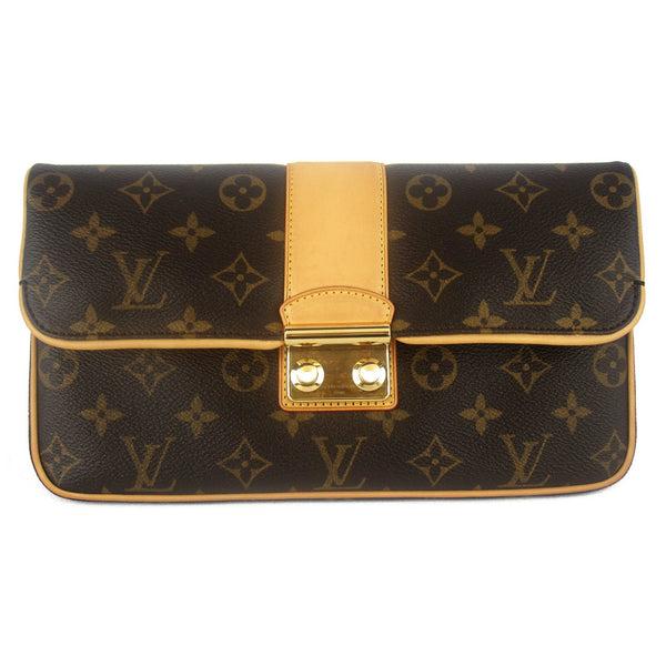 Louis Vuitton Monogram Sofia Coppola Slim Clutch