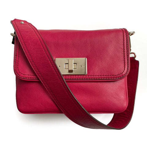 Kate Spade Irving Place Harlow Cranberry Shoulder Bag