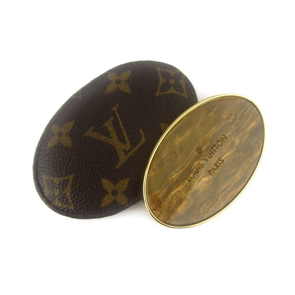 Louis Vuitton Enamelled Mirror in Monogram Case