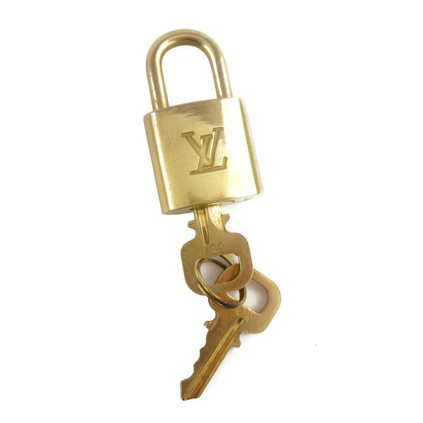 Louis Vuitton Brass Lock & Keys #304