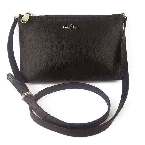 Cole Haan Saffiano Leather Cross-Body Pochette