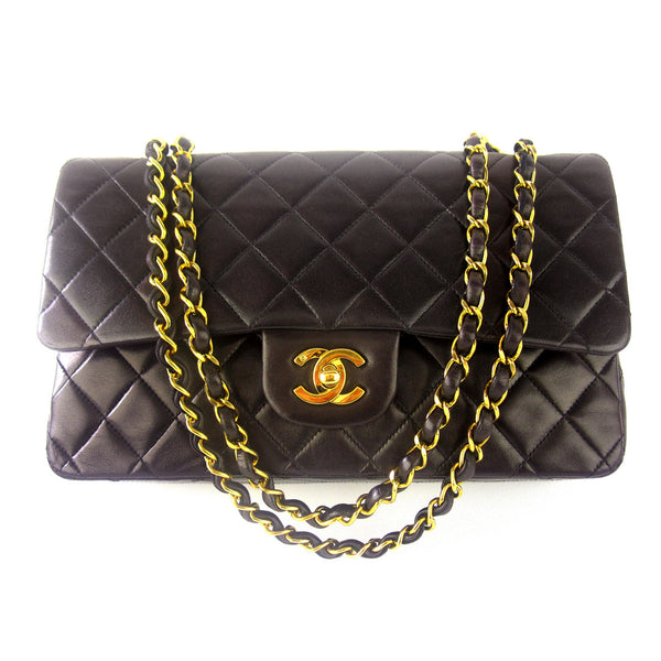 Chanel Medium Classic Douple Flap Chain Purse