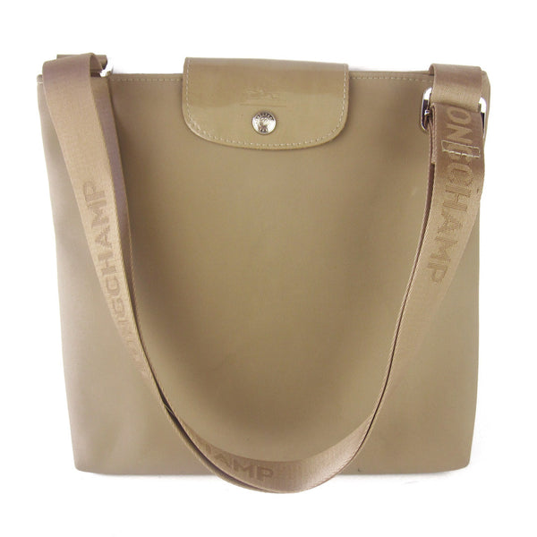 LONGCHAMP Beige Nylon Cross-Body