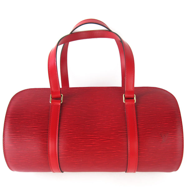Louis Vuitton Epi Soufflot Red