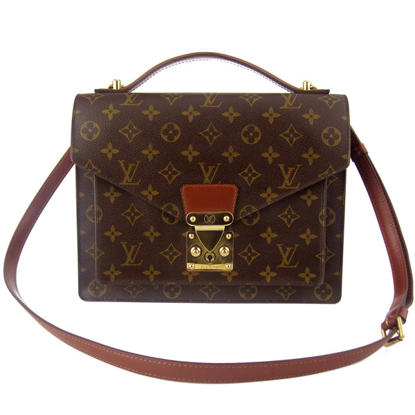 Louis Vuitton Monogram Monceau MM