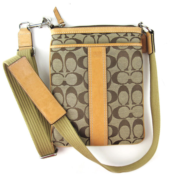 Coach Small Canvas Sling Bag