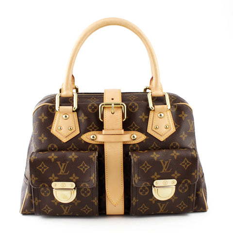Louis Vuitton Monogram Manhattan GM Satchel