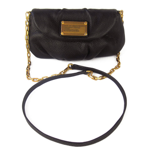 Marc by Marc Jacobs Classic Q Karlie Cross-Body Clutch - Black