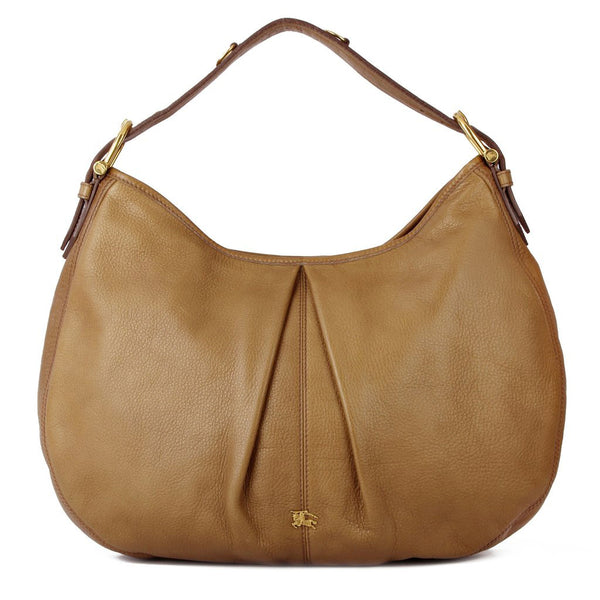 Burberry Malika Large Leather Hobo