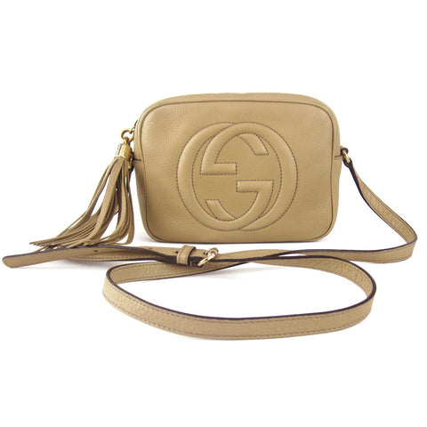 Gucci Soho Leather Disco Crossbody Bag