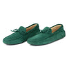 TOD's Men's Green Suede Leather Mocassin Loafers sz 9.5