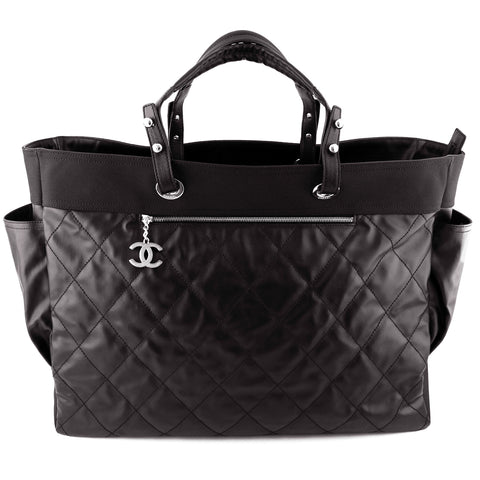 Chanel Biarritz XL Waterproof Canvas Weekender Tote