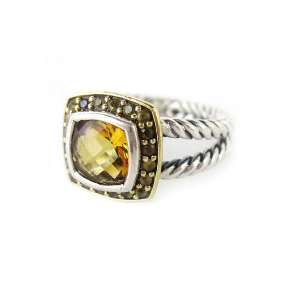 David Yurman Albion Citrine Ring