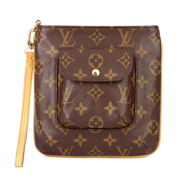 Louis Vuitton Monogram Partition Wristlet