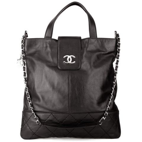 Chanel XL Expandable Top Handle & Shoulder Tote