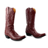 Old Gringo Burgundy Leather Cowboy Biker Boots sz 9.5
