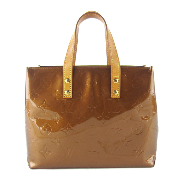 Louis Vuitton Vernis Bronze Reade PM
