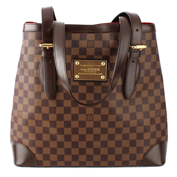 Louis Vuitton Damier Ebene Hampstead GM Tote