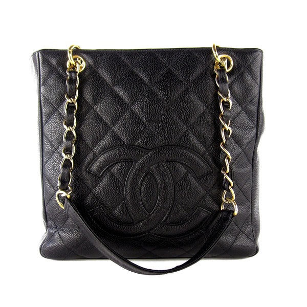Chanel Caviar PST Petite Shopping Tote