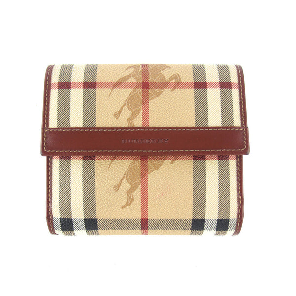 Burberry Haymarket Check Bifold Wallet
