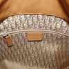Christian Dior Cannage Stitched Tan Leather Shoulder Bag