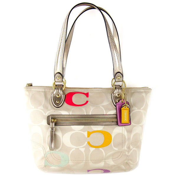 Coach Canvas Tote