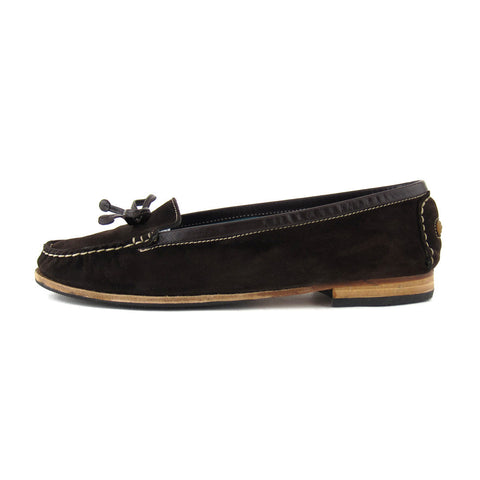Marc Jacobs Suede Brown Loafers sz 9 - NEW