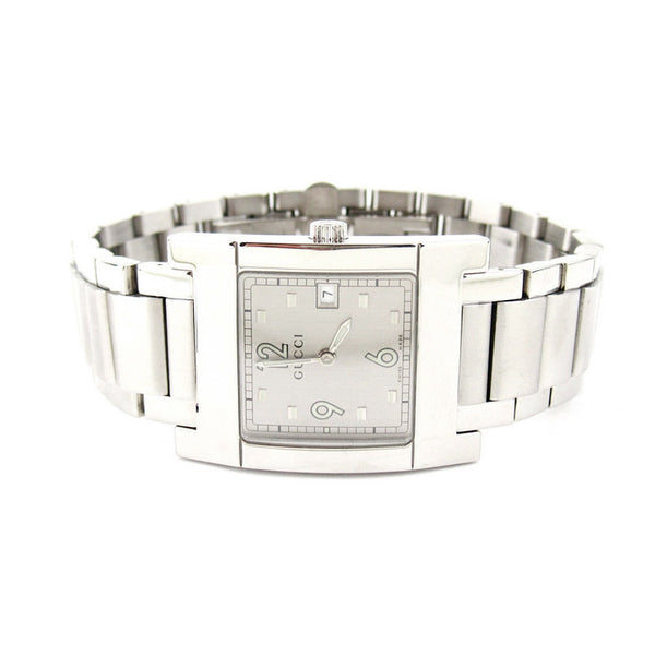 Gucci Rectangular Unisex Date Watch - Large